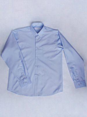 Рубашка Для Мальчика Голубая вид