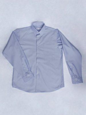 Рубашка Для Мальчика Серая вид