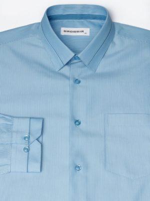Рубашка Для Мальчика Синяя Рябь