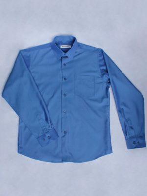 Рубашка Для Мальчика Синяя вид