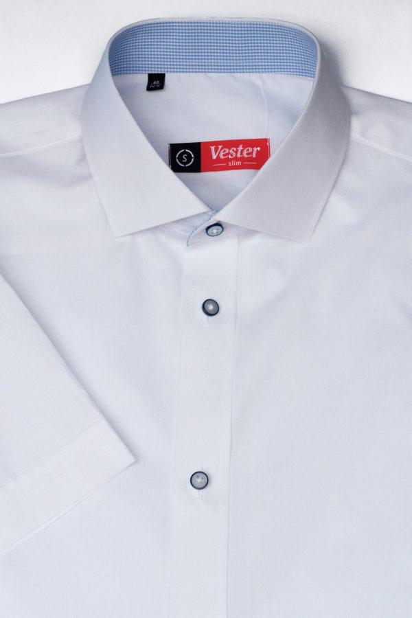 Белая легкая рубашка Vester 80216 S