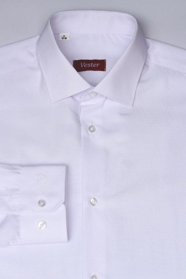 Белая подростковая рубашка Vester 68314 K