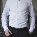 Белая подростковая рубашка Vester 68314K_14
