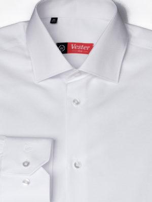 Белая рубашка с длинным рукавом Vester 68814 W
