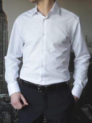 Белая рубашка с длинным рукавом Vester 68814W_10