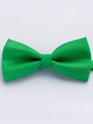 Галстук-бабочка зеленая 202016-08