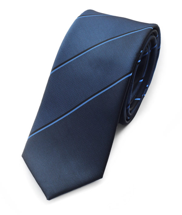 Галстук синий с градиентом 102118-04