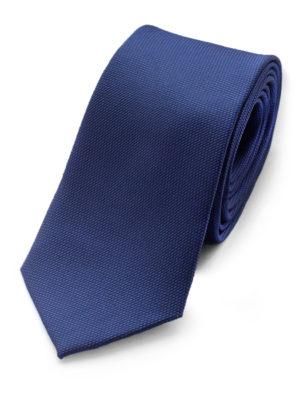 Галстук синий фактурный 102718-04