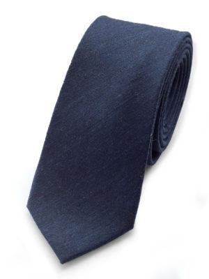 Галстук синий шерстяной 102918-04