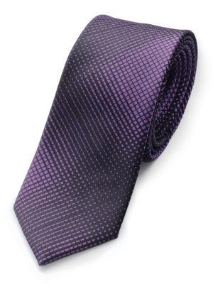 Галстук черно-фиолетовый 103218-06