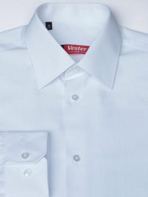 Рубашка белая в полоску Vester 68814 W