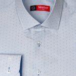 Рубашка в голубую клетку Vester 93014 S