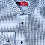 Рубашка в синюю клетку Vester 86616 W