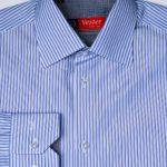 Рубашка в синюю полоску Vester 71214 W
