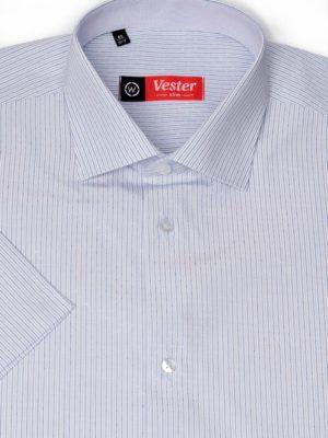 Рубашка в синюю полоску Vester 79614 W