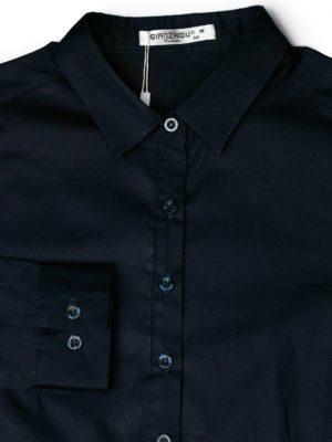 Темно-синяя рубашка фон
