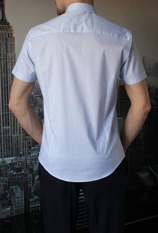 Рубашка с круглым узором Vester 95516 E сзади