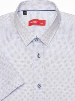 Рубашка с круглым узором Vester 95516 E