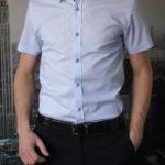 Рубашка с круглым узором Vester 95516E_03