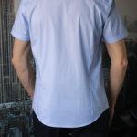 Рубашка с прямоугольным узором Vester 95516 E сзади