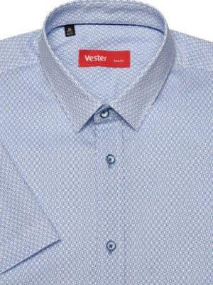 Рубашка с прямоугольным узором Vester 95516 E