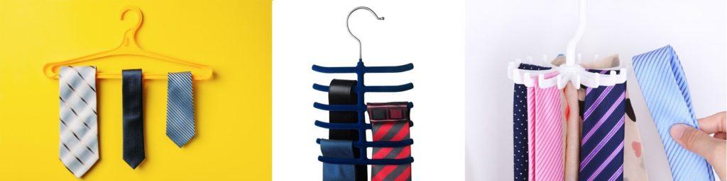 галстуки на вешалке - варианты